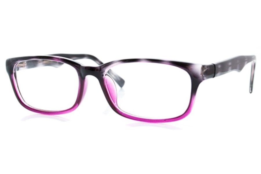 Vertu CE 3006 Eyeglasses in Grey/Purple Gradient